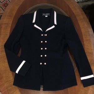 St. John knit jacket/ blazer